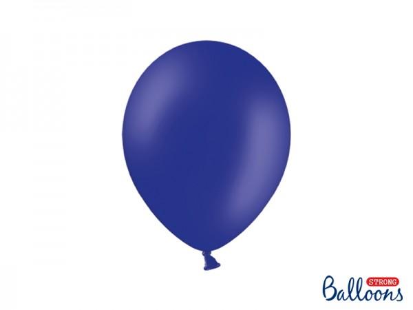 Paris Dekorace Balónky pastelové královsky modré, 27 cm