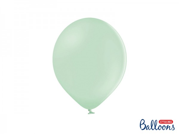 Paris Dekorace Balónky pastelové pistáciové, 27 cm