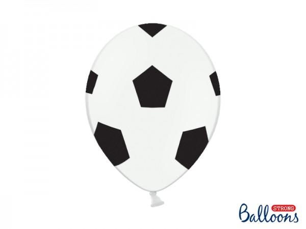 Paris Dekorace Balónek metalický Fotbal, 30 cm