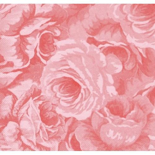 Paris Dekorace UBROUSEK  růžová růže, 60 ks