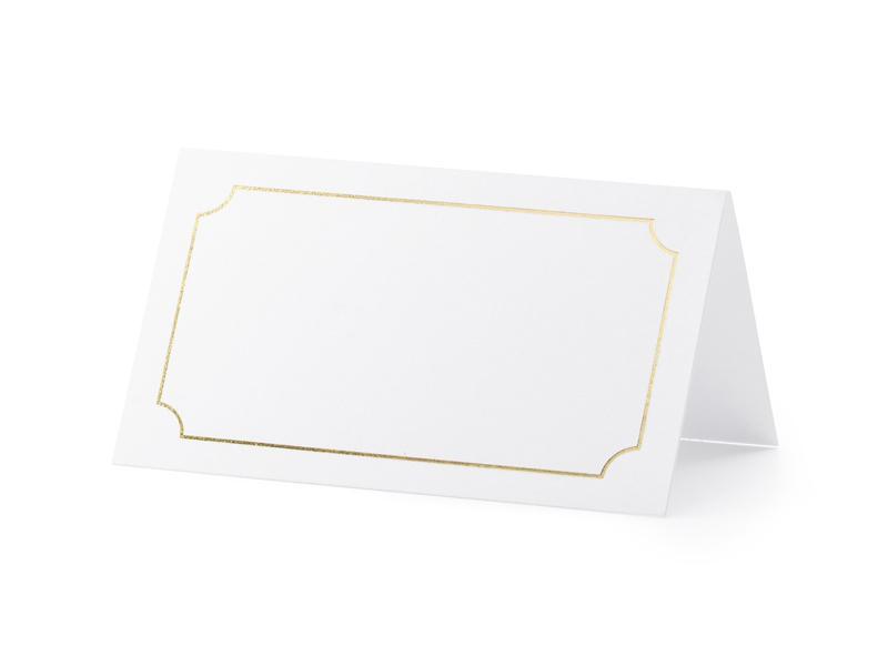 Paris Dekorace Jmenovka rámeček, zlatá