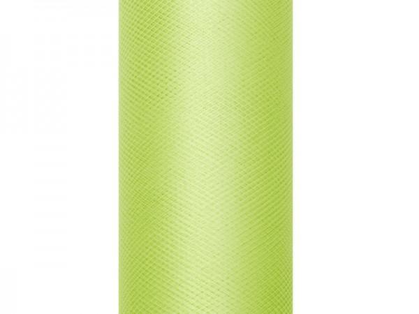 Paris Dekorace Tyl v roli, jablková, návin 30 cm, návin 25 m