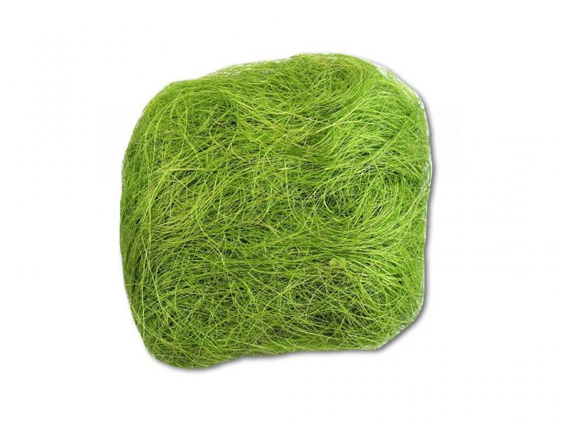 Paris Dekorace Barevné sisalové vlákno sv. zelená