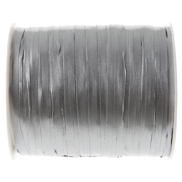 Paris Dekorace Stuha raffia stříbrná, 5 mm x 25 m
