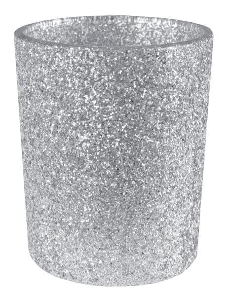Paris Dekorace Stříbrný svícen na čajovky, 5,5 x 6,7 cm