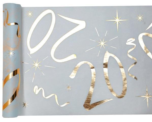 Paris Dekorace Stolová narozeninová šerpa 20, 30 cm x 5 m