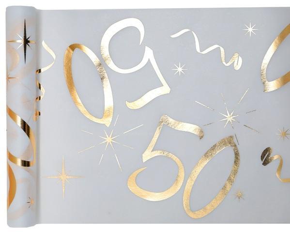 Paris Dekorace Stolová narozeninová šerpa 50, 30 cm x 5 m