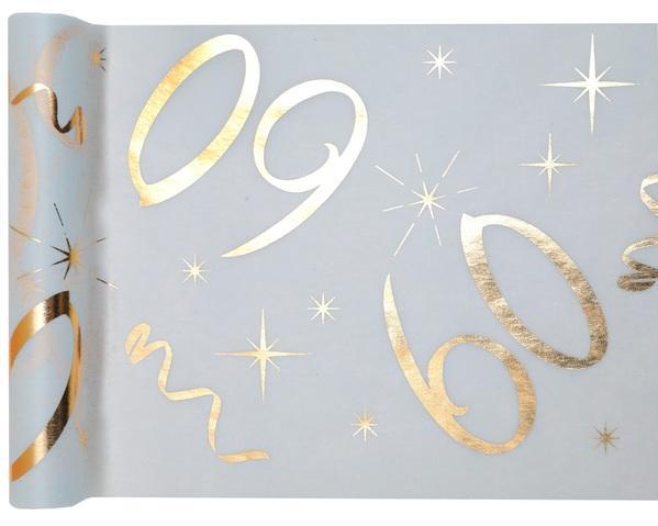 Paris Dekorace Stolová narozeninová šerpa 60, 30 cm x 5 m
