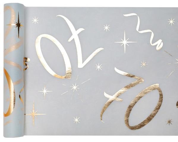 Paris Dekorace Stolová narozeninová šerpa 70, 30 cm x 5 m