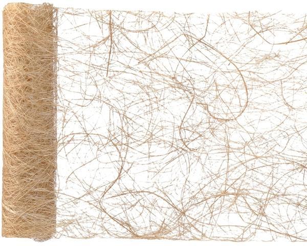 Paris Dekorace Stolová šerpa z kokos. vláken, přírodní 30 cm x 5 m
