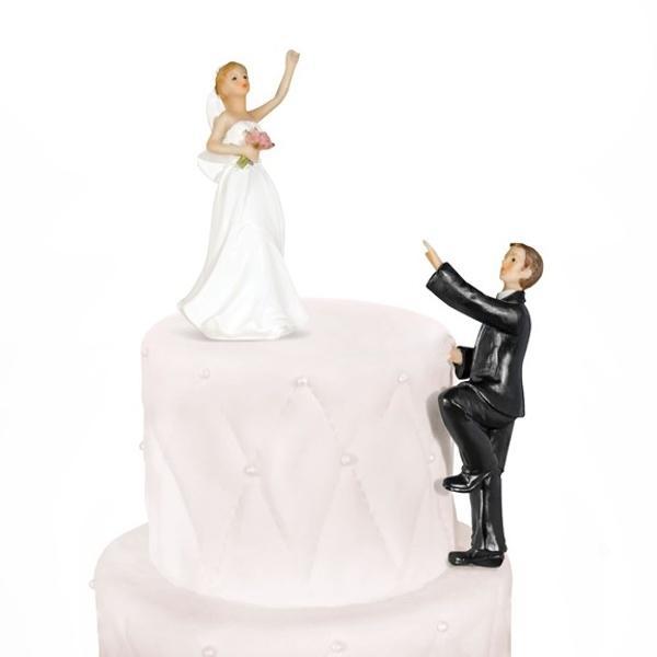 Paris Dekorace Figurka novomanželé stoupající