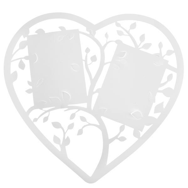 Paris Dekorace Rámeček srdce, 38 x 35.5 cm