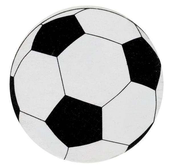 Paris Dekorace Fotbalové konfety, 50 ks