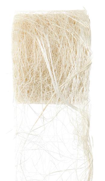 Paris Dekorace Stuha přírodní z kokos. vláken 70mm/5m