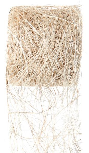 Paris Dekorace Stuha ivory z kokos. vláken 70mm/5m