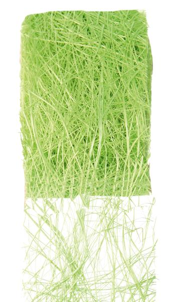 Paris Dekorace Stuha zelená z kokos. vláken 70mm/5m