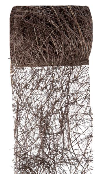 Paris Dekorace Stuha čokoládová z kokos. vláken 70mm/5m