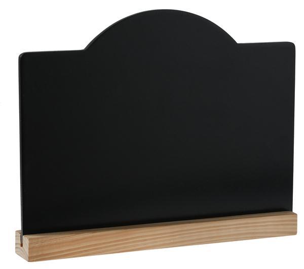 Paris Dekorace Tabulka dřevěná velká, 19.9 x 15 cm