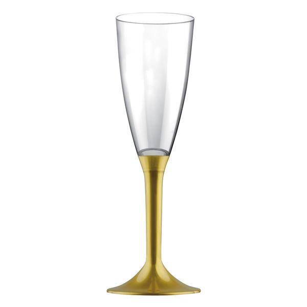 Paris Dekorace Zlaté skleničky 12cl, 6 ks