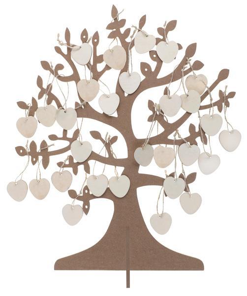 Paris Dekorace Strom přání (kniha hostů)
