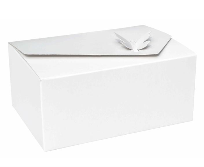 Paris Dekorace Krabička na výslužku s motýlem