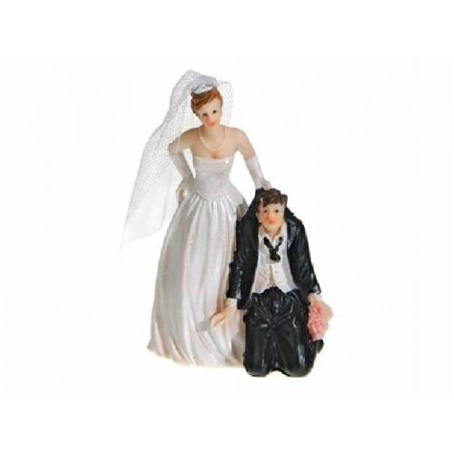 Paris Dekorace Figurka klečící ženich 11cm