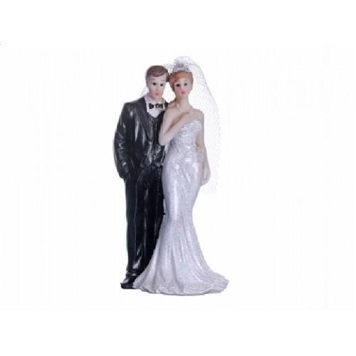 Paris Dekorace Figurka novomanželé 10cm