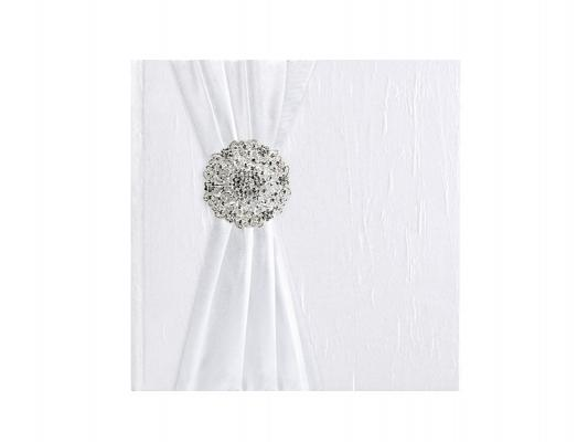 Paris Dekorace Svatební album se stříbrnou sponou