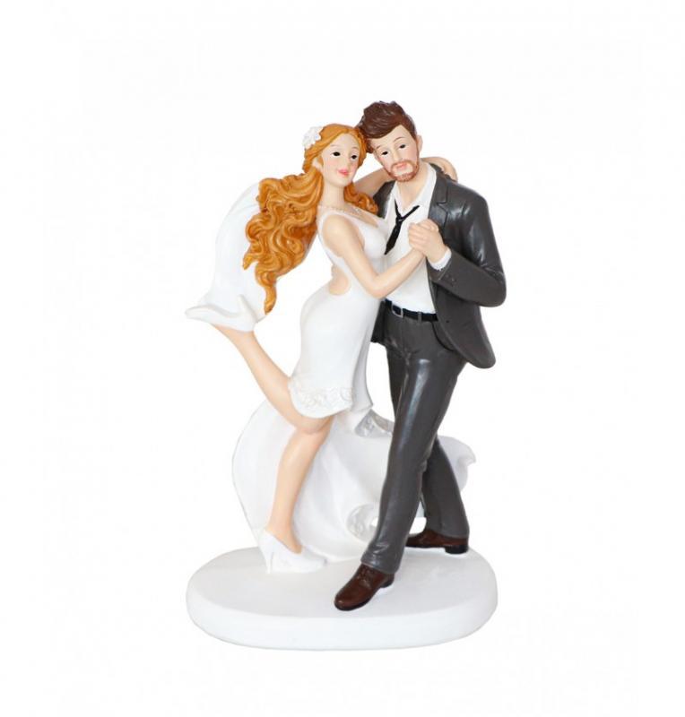 Paris Dekorace Svatební figurka tančící pár