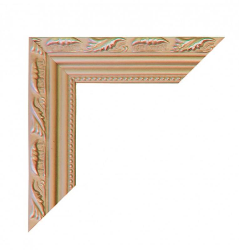 Paris Dekorace Dřevěný zlatý rám do fotokoutku