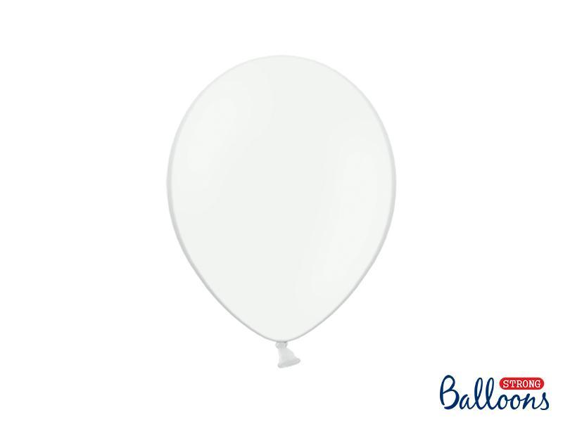 Paris Dekorace Balónky pastelové bílé, 27 cm