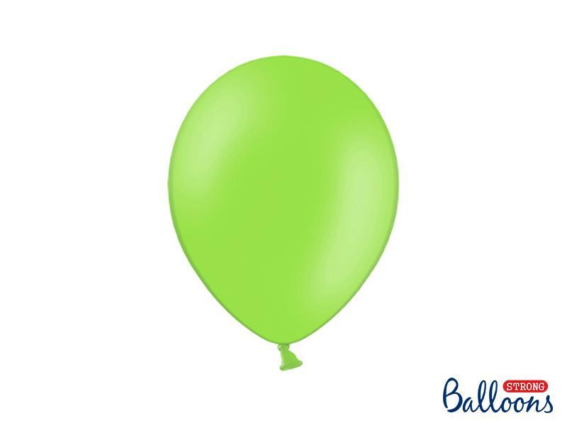 Paris Dekorace Balónky pastelové jasně zelená, 27 cm