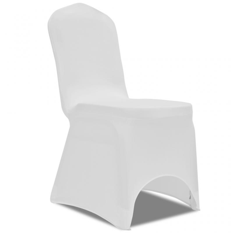 Paris Dekorace Potah na židle elastický bílý