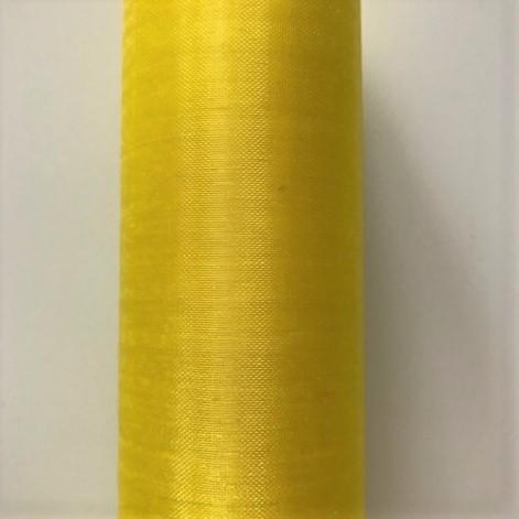 Paris Dekorace Organza hladká citrónová, 36cm/9m