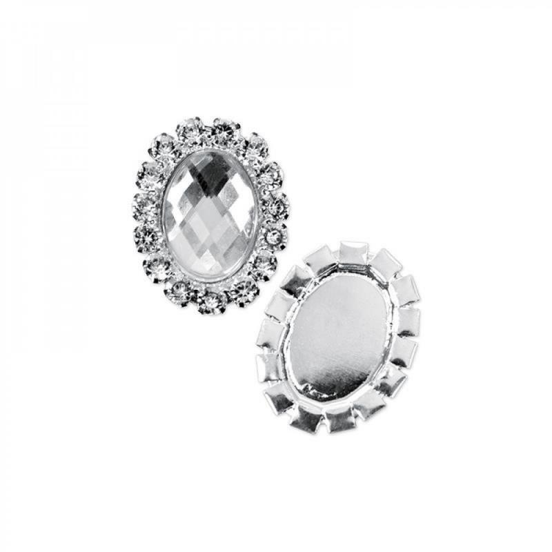 Paris Dekorace Ozdobná spona se stříbrnými kameny