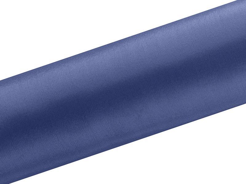 Paris Dekorace Satén v roli, tm. modrý, šířka 16cm, návin 9m