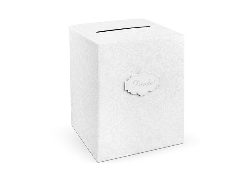 Paris Dekorace Svatební box na přání