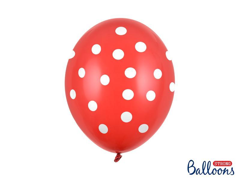 Paris Dekorace Balonky puntík pastel Poppy