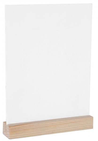 Paris Dekorace Velká dřevěná tabulka, 10 x 14 cm