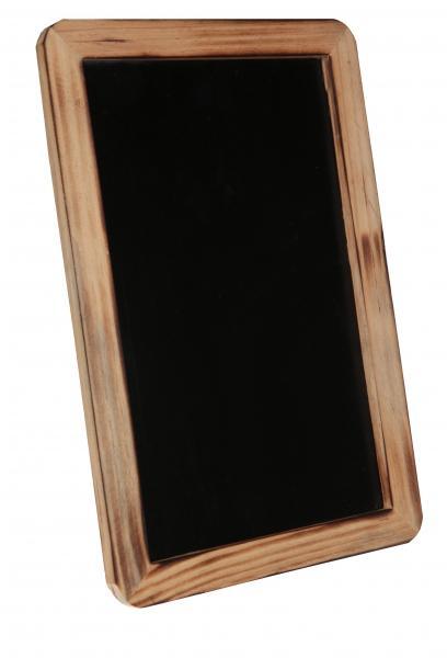 Paris Dekorace Dřevěná tabulka na stojánku, 18 x 27 x 0,9 cm